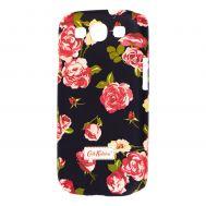 Чехол для Samsung Galaxy S3 (i9300) Cath Kidston Flowers черный
