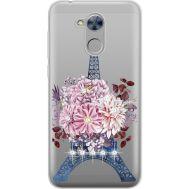 Силиконовый чехол BoxFace Huawei Honor 6A Eiffel Tower (934983-rs1)