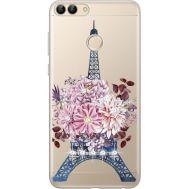 Силиконовый чехол BoxFace Huawei P Smart Eiffel Tower (934988-rs1)