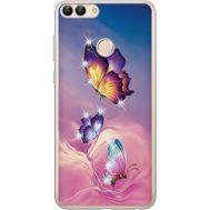 Силиконовый чехол BoxFace Huawei P Smart Butterflies (934988-rs19)