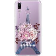 Силиконовый чехол BoxFace Huawei Honor Play Eiffel Tower (935427-rs1)