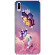 Силиконовый чехол BoxFace Huawei Honor Play Butterflies (935427-rs19)