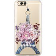 Силиконовый чехол BoxFace Huawei Honor 7x Eiffel Tower (935886-rs1)