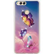 Силиконовый чехол BoxFace Huawei Honor 7x Butterflies (935886-rs19)