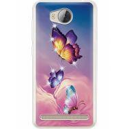 Силиконовый чехол BoxFace Huawei Ascend Y3 2 Butterflies (935887-rs19)
