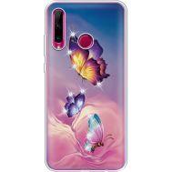 Силиконовый чехол BoxFace Huawei Honor 10i Butterflies (937080-rs19)