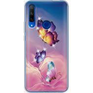 Силиконовый чехол BoxFace Huawei Honor 9X Butterflies (937997-rs19)