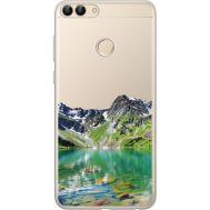 Силиконовый чехол BoxFace Huawei P Smart Green Mountain (34988-cc69)