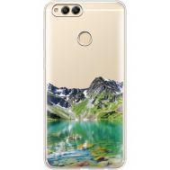 Силиконовый чехол BoxFace Huawei Honor 7x Green Mountain (35886-cc69)