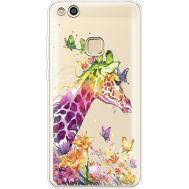 Силиконовый чехол BoxFace Huawei P10 Lite Colorful Giraffe (35957-cc14)