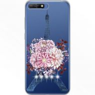 Силиконовый чехол BoxFace Huawei Y6 2018 Eiffel Tower (934967-rs1)