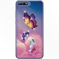 Силиконовый чехол BoxFace Huawei Y6 2018 Butterflies (934967-rs19)