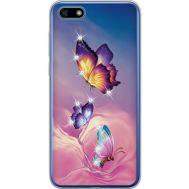 Силиконовый чехол BoxFace Huawei Y5 2018 Butterflies (934965-rs19)
