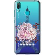 Силиконовый чехол BoxFace Huawei Y7 2019 Eiffel Tower (936046-rs1)