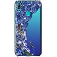Силиконовый чехол BoxFace Huawei Y7 2019 Peafowl (936046-rs7)