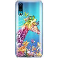Силиконовый чехол BoxFace Meizu 16s Colorful Giraffe (37984-cc14)