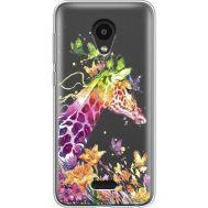 Силиконовый чехол BoxFace Meizu C9 Pro Colorful Giraffe (38754-cc14)