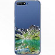 Силиконовый чехол BoxFace Huawei Y6 2018 Green Mountain (34967-cc69)