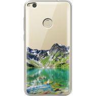 Силиконовый чехол BoxFace Huawei P8 Lite 2017 Green Mountain (34992-cc69)