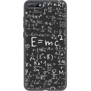Силиконовый чехол BoxFace Huawei Y6 2018 E=mc2 (34777-bk65)