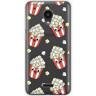 Силиконовый чехол BoxFace Meizu C9 с 3D-глазками Popcorn (35757-cc75)