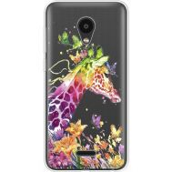 Силиконовый чехол BoxFace Meizu C9 Colorful Giraffe (35757-cc14)