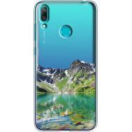 Силиконовый чехол BoxFace Huawei Y7 2019 Green Mountain (36046-cc69)