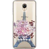 Силиконовый чехол BoxFace Meizu M6s Eiffel Tower (935011-rs1)