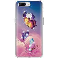 Силиконовый чехол BoxFace OnePlus 5T Butterflies (935796-rs19)