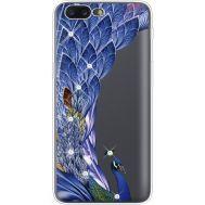 Силиконовый чехол BoxFace OnePlus 5 Peafowl (935825-rs7)