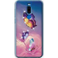 Силиконовый чехол BoxFace Meizu X8 Butterflies (935839-rs19)