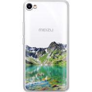 Силиконовый чехол BoxFace Meizu U10 Green Mountain (36786-cc69)