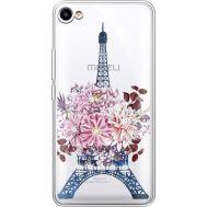 Силиконовый чехол BoxFace Meizu U10 Eiffel Tower (936786-rs1)