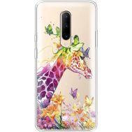 Силиконовый чехол BoxFace OnePlus 7 Pro Colorful Giraffe (37259-cc14)