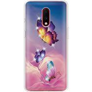 Силиконовый чехол BoxFace OnePlus 7 Butterflies (937258-rs19)