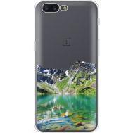 Силиконовый чехол BoxFace OnePlus 5 Green Mountain (35825-cc69)