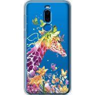 Силиконовый чехол BoxFace Meizu X8 Colorful Giraffe (35839-cc14)