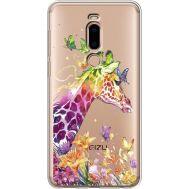 Силиконовый чехол BoxFace Meizu M8 Colorful Giraffe (35866-cc14)
