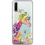 Силиконовый чехол BoxFace OPPO A31 Colorful Giraffe (39939-cc14)