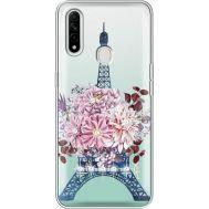 Силиконовый чехол BoxFace OPPO A31 Eiffel Tower (939939-rs1)