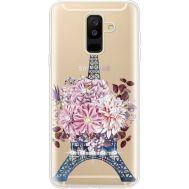 Силиконовый чехол BoxFace Samsung A605 Galaxy A6 Plus 2018 Eiffel Tower (935017-rs1)