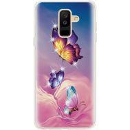 Силиконовый чехол BoxFace Samsung A605 Galaxy A6 Plus 2018 Butterflies (935017-rs19)