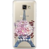 Силиконовый чехол BoxFace Samsung A710 Galaxy A7 Eiffel Tower (935683-rs1)