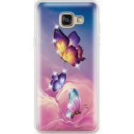 Силиконовый чехол BoxFace Samsung A710 Galaxy A7 Butterflies (935683-rs19)