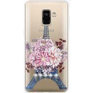 Силиконовый чехол BoxFace Samsung A730 Galaxy A8 Plus (2018) Eiffel Tower (935992-rs1)