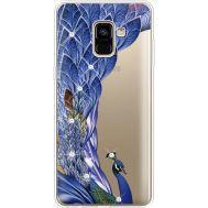 Силиконовый чехол BoxFace Samsung A730 Galaxy A8 Plus (2018) Peafowl (935992-rs7)