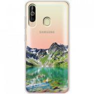 Силиконовый чехол BoxFace Samsung A6060 Galaxy A60 Green Mountain (37397-cc69)