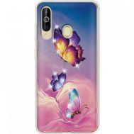 Силиконовый чехол BoxFace Samsung A6060 Galaxy A60 Butterflies (937397-rs19)