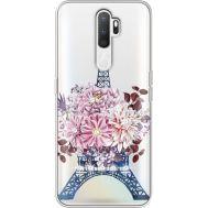 Силиконовый чехол BoxFace OPPO A5 2020 Eiffel Tower (938520-rs1)