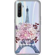 Силиконовый чехол BoxFace Realme XT Eiffel Tower (939542-rs1)